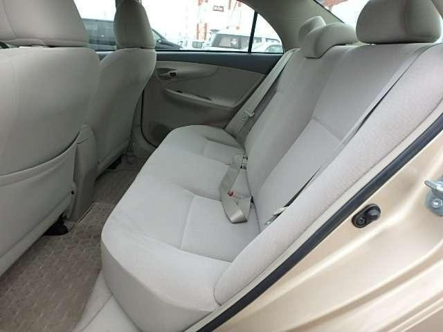 Toyota Axio 2010 Rear Seats