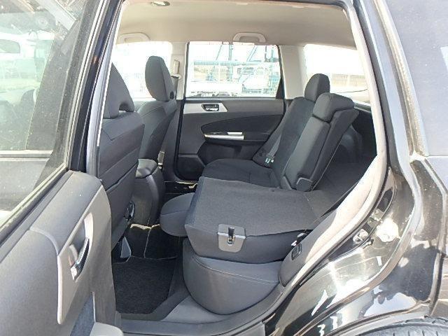 2010 Subaru Forester Rear Seats