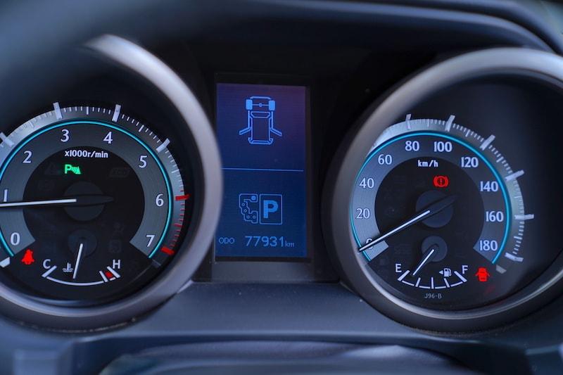 2012 Toyota Prado Speedometer