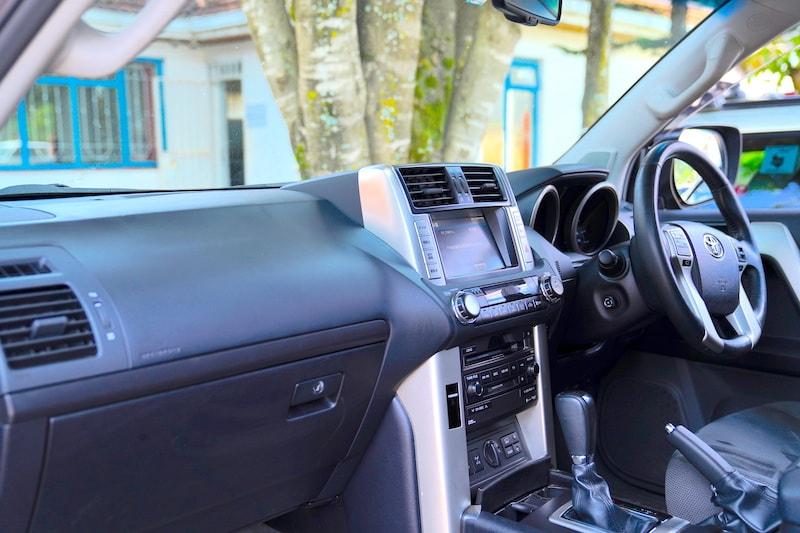 2012 Toyota Prado Dash