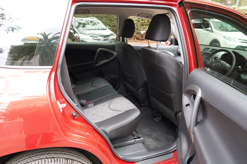 2011 Toyota RAV4 Second Row
