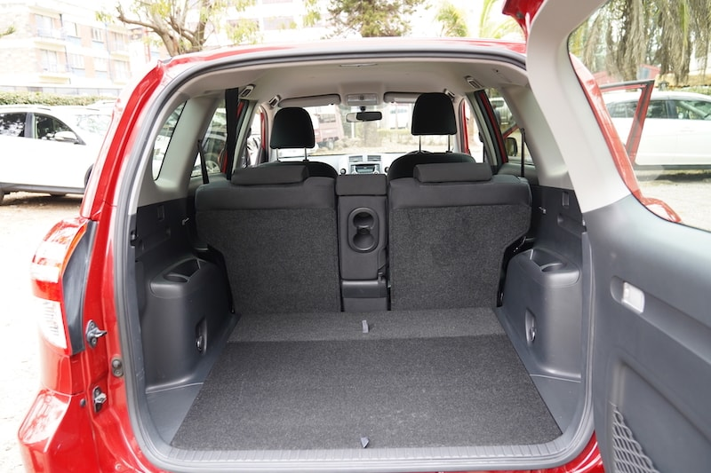 2011 Toyota RAV4 Boot