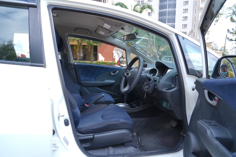 2011 Honda Fit First Row