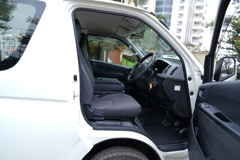 2012 Toyota Hiace first row