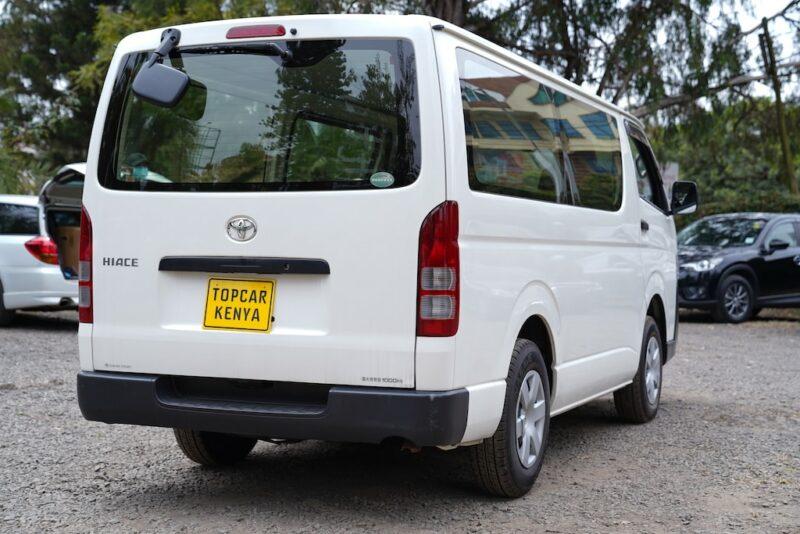 2012 Toyota Hiace Clearance