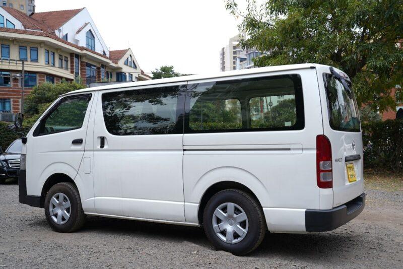 2012 Toyota Hiace exterior