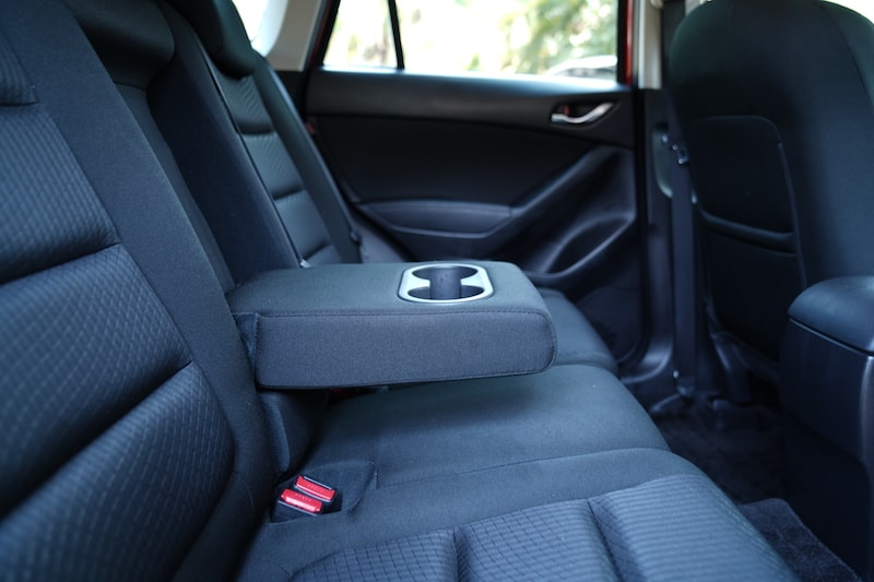 2012 Mazda CX5 armrest cupholders