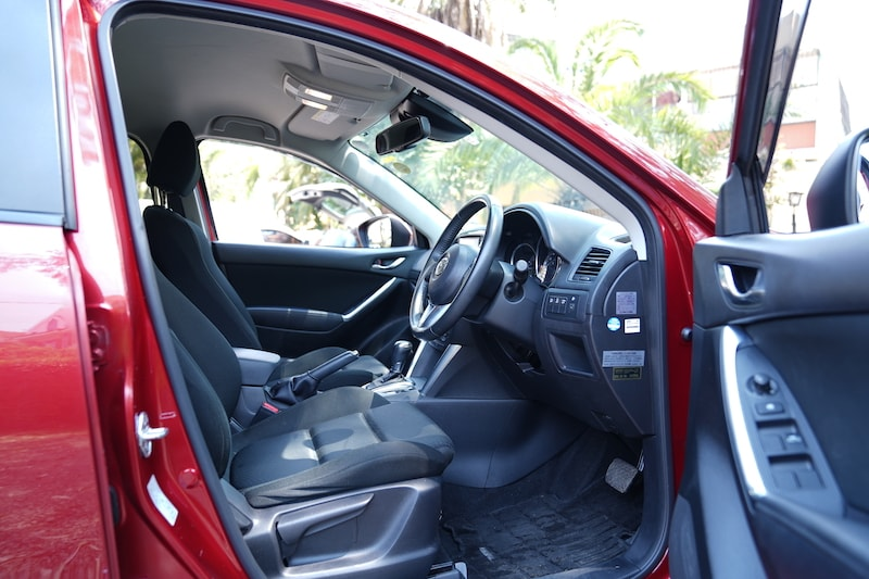 2012 Mazda CX5 First Row