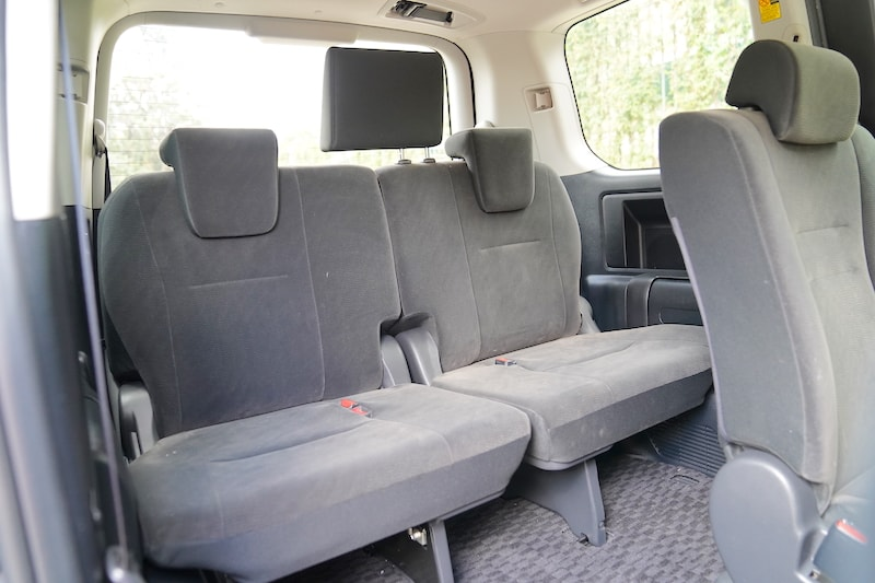 2012 Toyota Noah third row