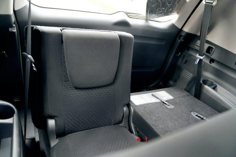 Toyota Vanguard third row seats