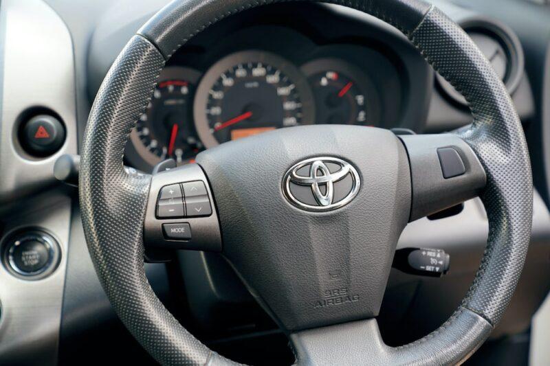 Toyota Vanguard Steering