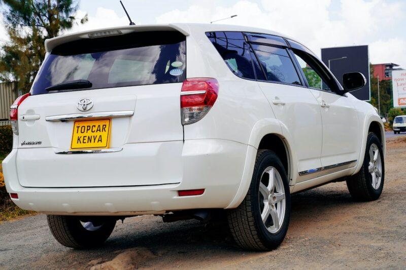 Toyota Vanguard Clearance