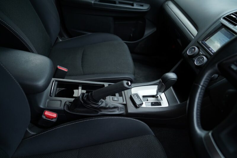 2012 Subaru XV Cupholders