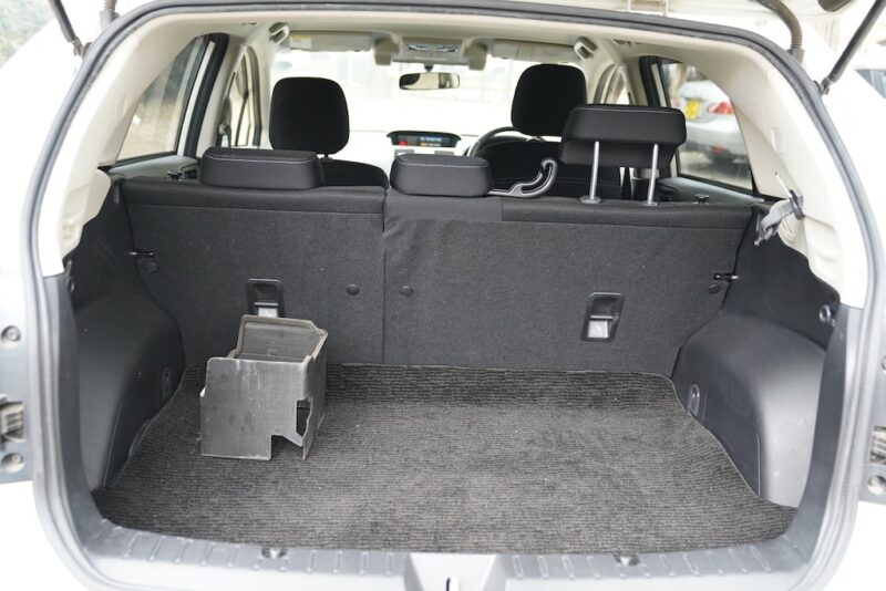 2012 Subaru XV Boot