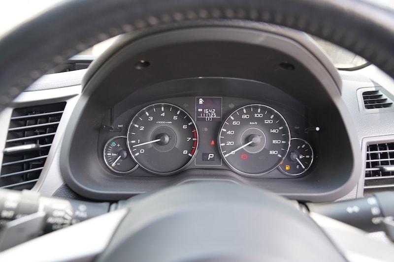 2012 Subaru Outback Speedometer