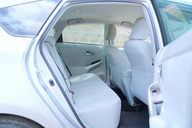 2013 Toyota Prius second row legroom