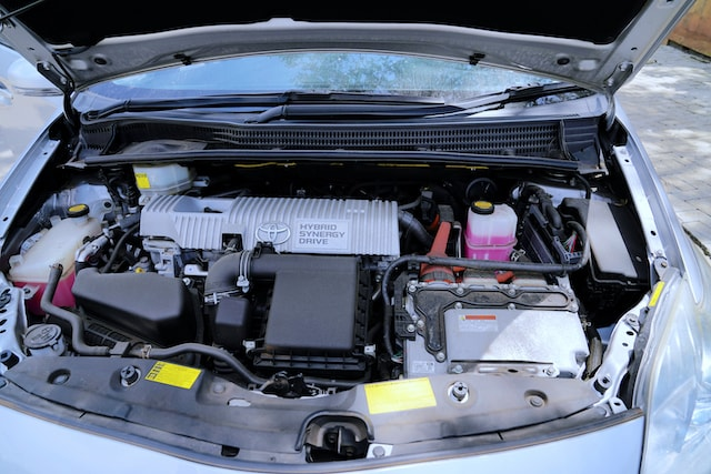 2013 Toyota Prius Engine