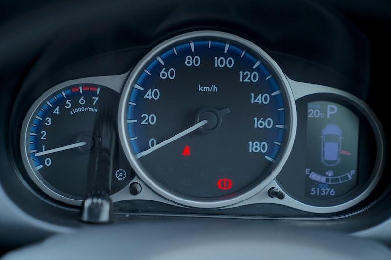 2013 Mazda Demio Speedometer