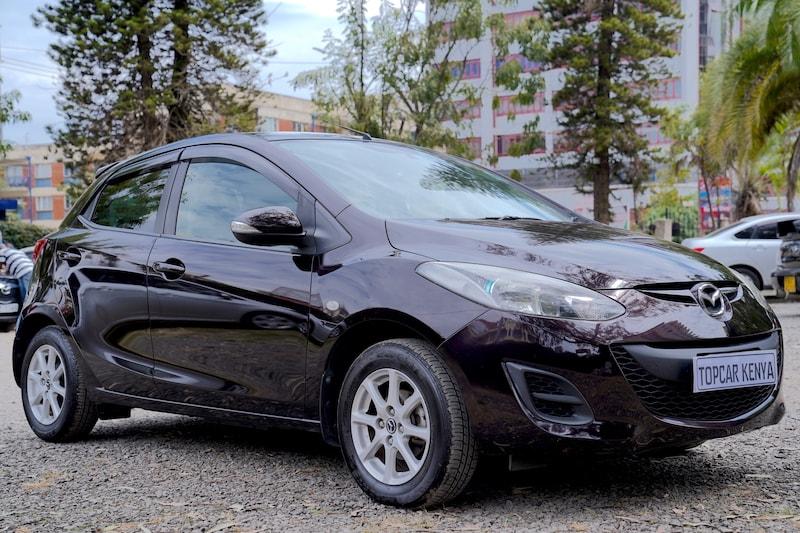 2013 Mazda Demio in Kenya