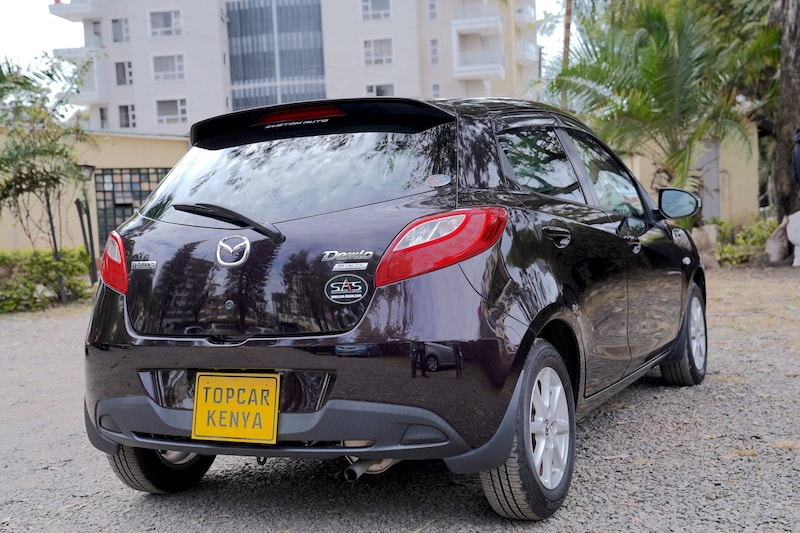 2013 Mazda Demio Rear