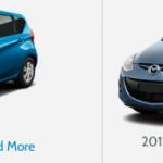 2012 Nissan Note vs 2012 Mazda Demio Comparison