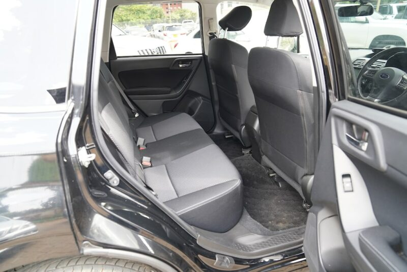 2013 Subaru Forester Second Row Legroom