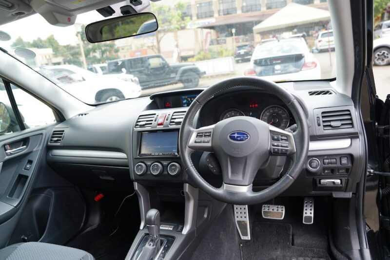 2013 Subaru Forester Dashboard