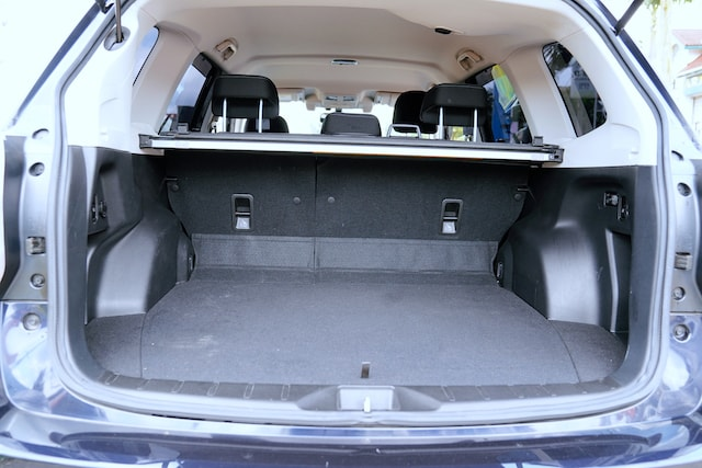 2013 Subaru Forester Boot Space
