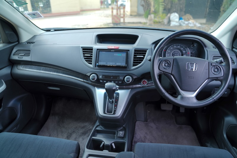 2013 Honda CRV Dashboard