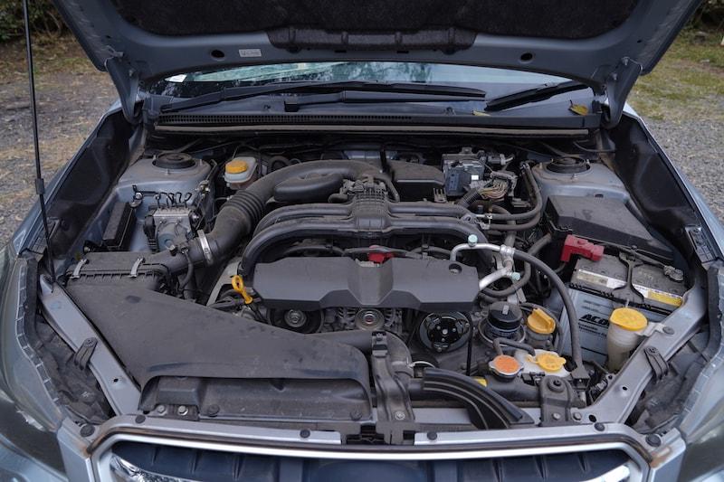 2013 Subaru Impreza Engine