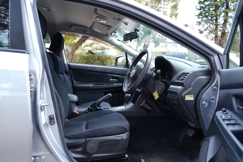 2013 Subaru Impreza First Row