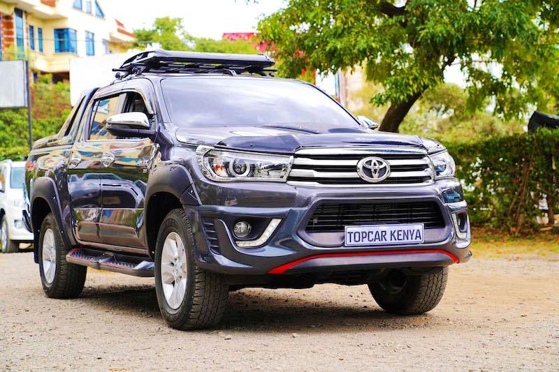 2017 Toyota Hilux Kenya