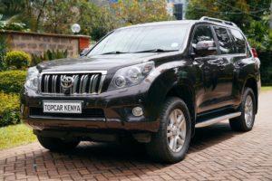 Toyota Prado Import Kenya