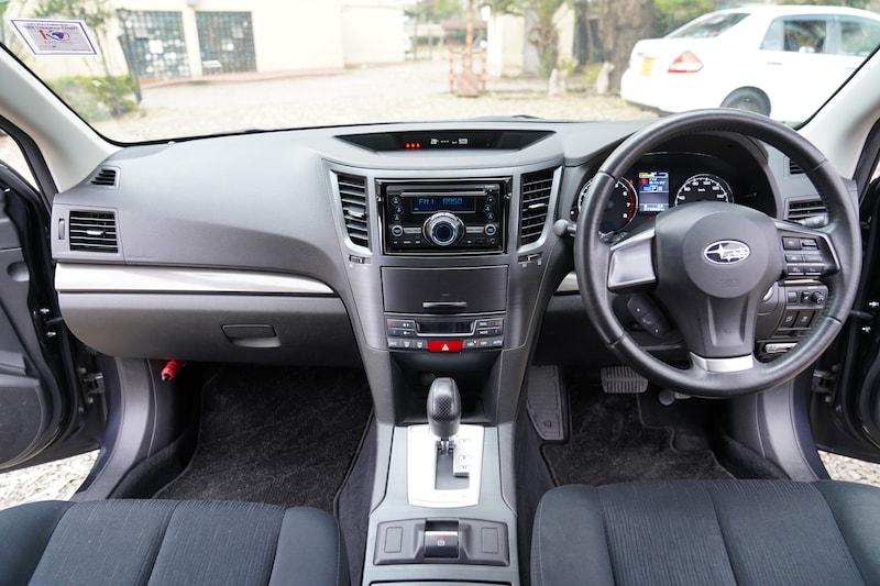 2013 Subaru Legacy Dashboard