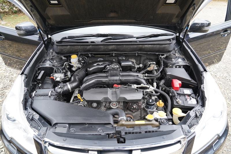 2013 Subaru Legacy Engine