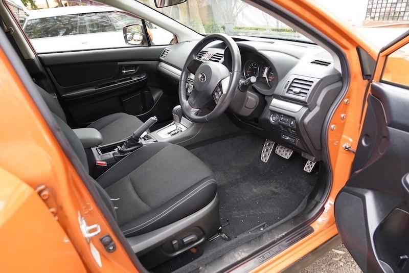 2013 Subaru XV first Row