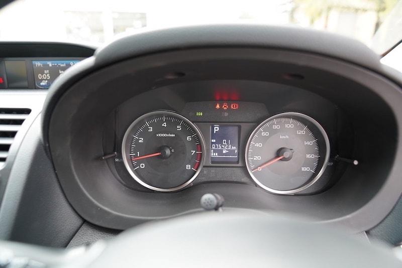 2013 Subaru XV Speedometer