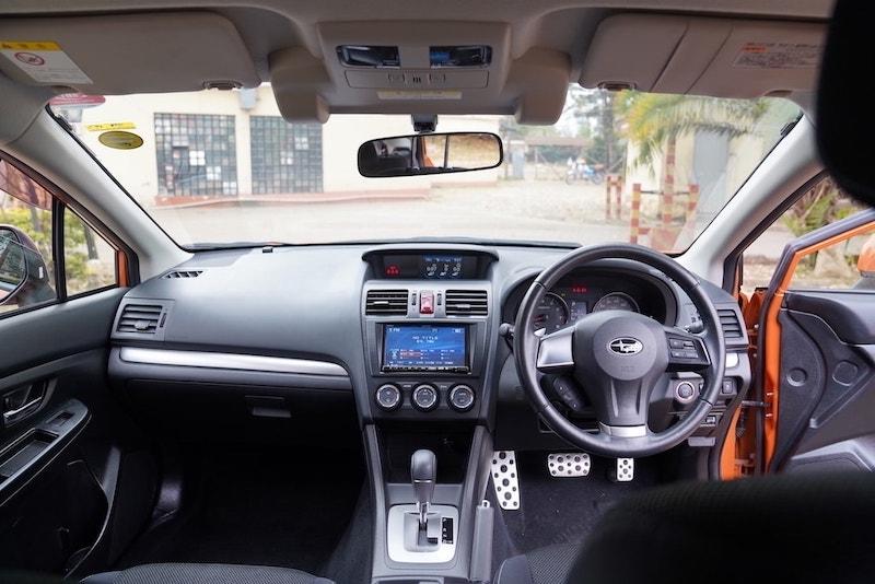 2013 Subaru XV Dashboard
