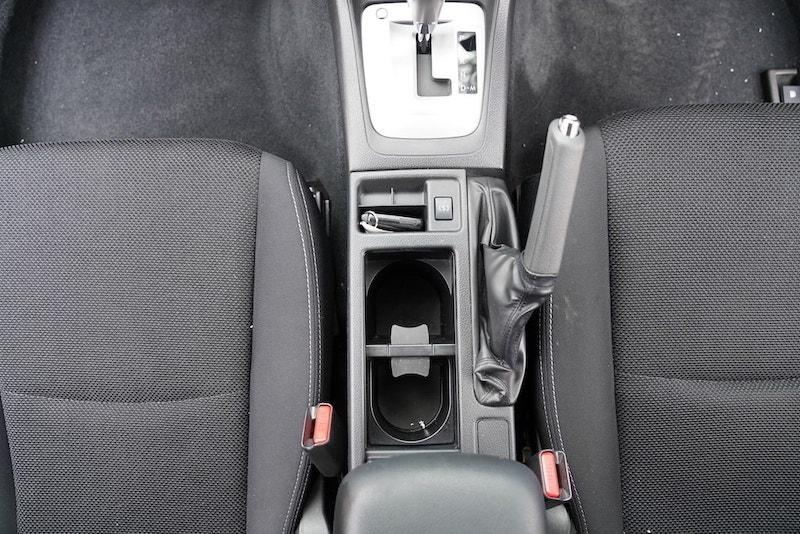 2013 Subaru XV Cupholders