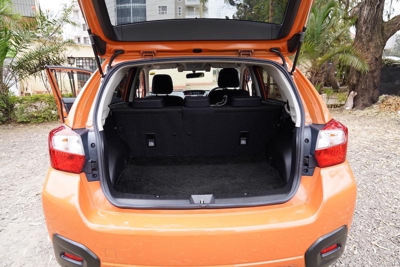 2013 Subaru XV Boot