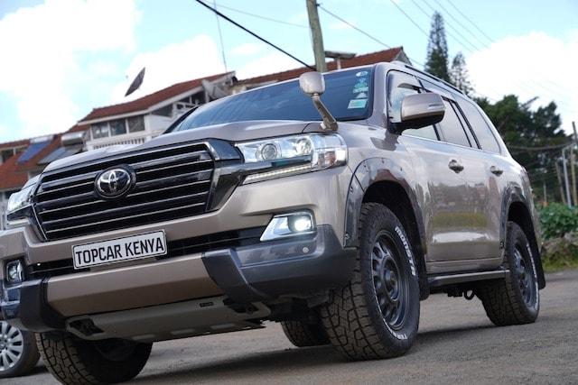 Toyota Land Cruiser V8 Kenya