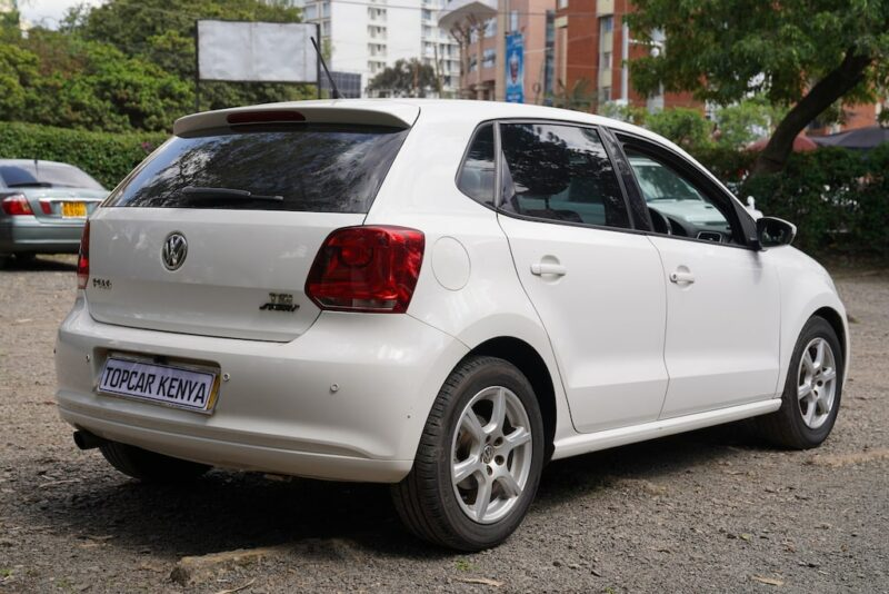 VW Polo rear