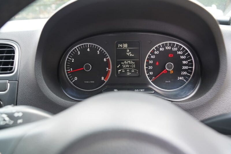 VW Polo Speedometer