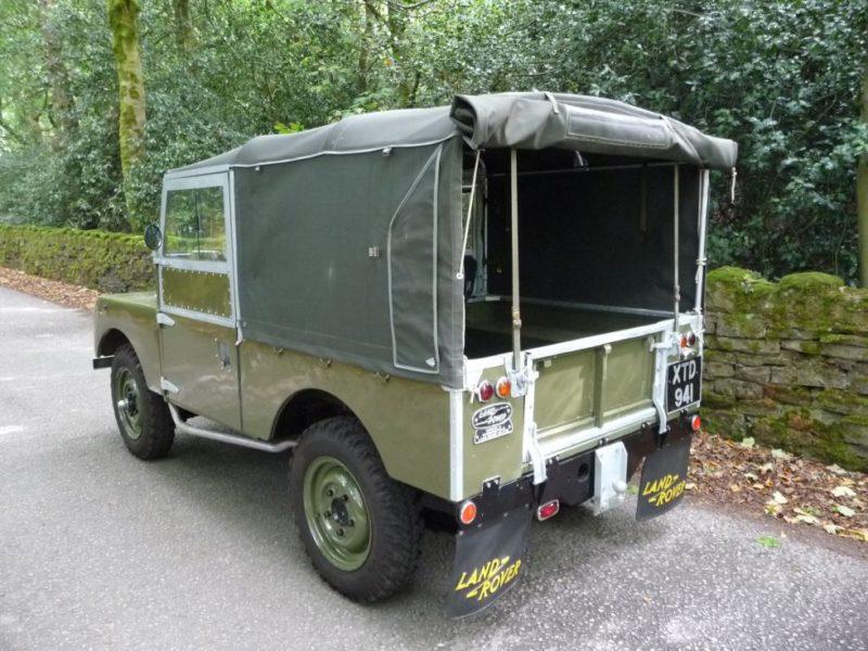 Land Rover Series 1 Design