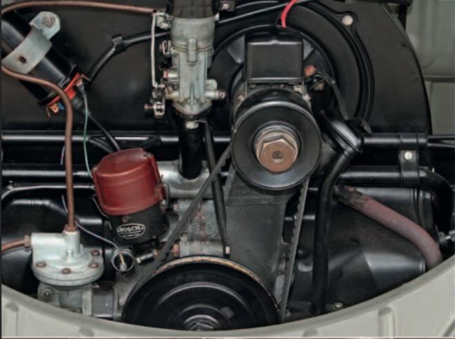 Volkswagen Beetle Engine