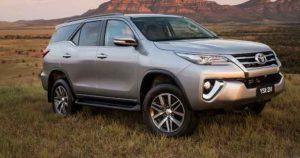 Toyota Fortuner Kenya