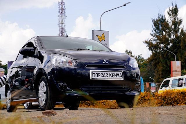 2013 Mitsubishi Mirage Kenya