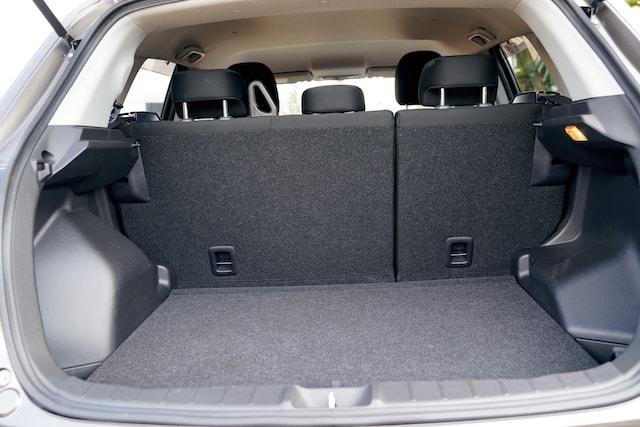 Mitsubishi RVR Boot Space