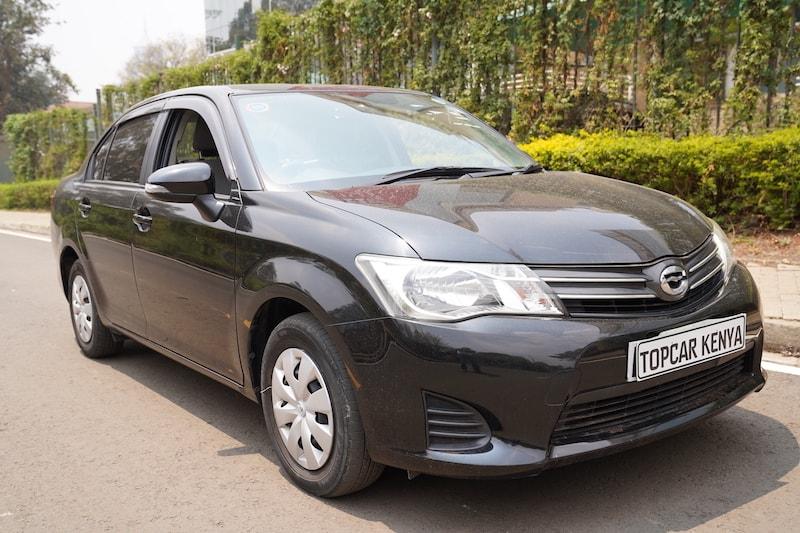 2013 Toyota Axio Kenya