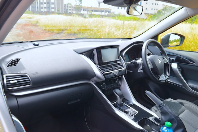 Mitsubishi Eclipse Cross Heads up display